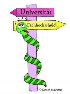 Uni oder FH? Die Suche nach der passenden Hochschule