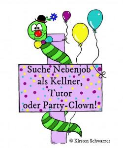 Heute Party-Clown, morgen Tutor: Jobben im Uni-Dschungel