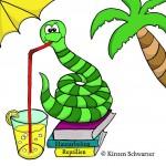 Arbeit am neuen Logo für den Uni-Dschungel Blog, www.uni-dschungel.de, Uni-Dschungel Blog, Kirsten Schwarzer