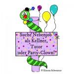 Heute Party-Clown, morgen Tutor: Jobben im Uni-Dschungel, www.uni-dschungel.de, Uni-Dschungel Blog, Kirsten Schwarzer