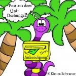 Post aus dem Uni-Dschungel, www.uni-dschungel.de, Uni-Dschungel Blog, Kirsten Schwarzer