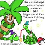 Happy New Year im Uni-Dschungel, www.uni-dschungel.de, Uni-Dschungel Blog, Kirsten Schwarzer