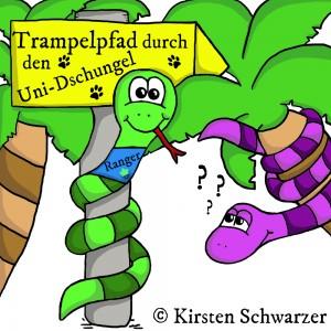 Der Uni-Dschungel Trampelpfad - Dein Wegweiser fürs Studium, www.uni-dschungel.de, Uni-Dschungel Blog, Kirsten Schwarzer