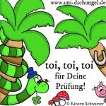 Viel Erfolg bei den Prüfungen, www.uni-dschungel.de, Uni-Dschungel Blog, Kirsten Schwarzer