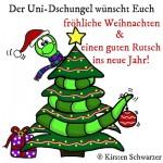 Weihnachtsgrüße aus dem Uni-Dschungel, www.uni-dschungel.de, Uni-Dschungel Blog, Kirsten Schwarzer