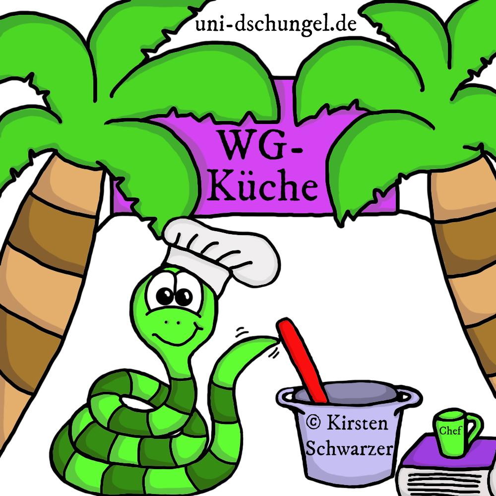 A wie Auflaufform bis Z wie Zimt: Was benötigt man alles in einer WG-Küche?