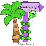 Logo Uni-Dschungel Blog www.uni-dschungel.de