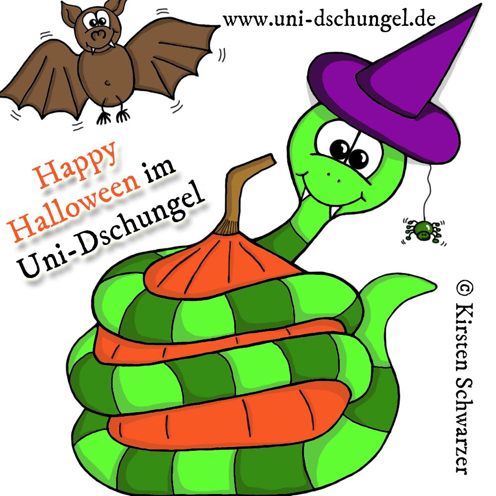 Happy Halloween im Uni-Dschungel!