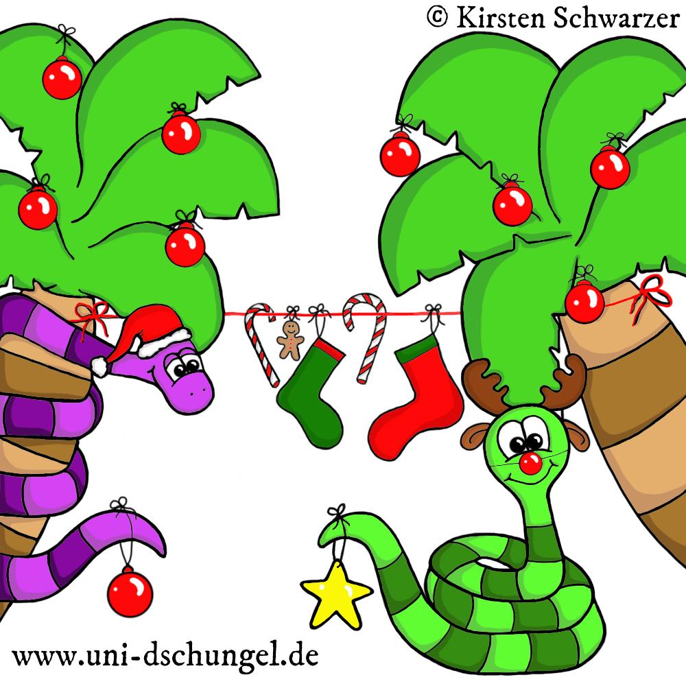 Ho, ho, ho! Habt einen fröhlichen Nikolaustag & eine schöne Adventszeit im Uni-Dschungel! www.uni-dschungel.de, Uni-Dschungel Blog, Kirsten Schwarzer