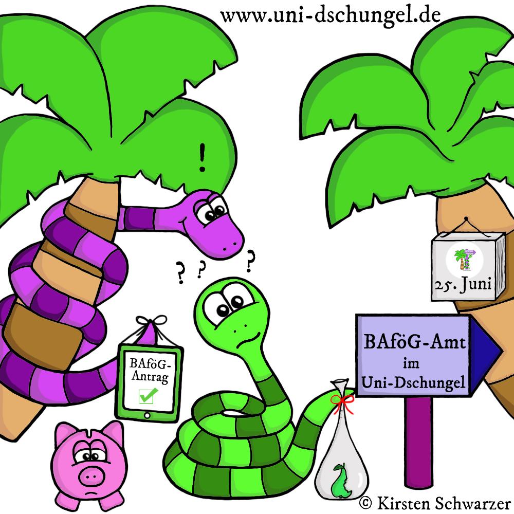 Ohne Moos ist im Uni-Dschungel nix los – das BAföG, www.uni-dschungel.de, Uni-Dschungel Blog, Kirsten Schwarzer