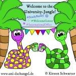 Study Buddy im deutschen Uni-Dschungel: Hilfe für internationale Studierende, www.uni-dschungel.de, Uni-Dschungel Blog, Kirsten Schwarzer
